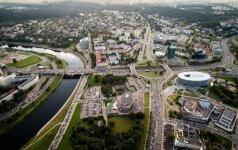 В Вильнюсе снова образовались заторы