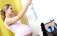 35 nėštumo savaitė: pasirūpink visais būsimam šeimos nariui reikalingais daiktais