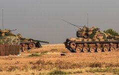 Турецкие силы отбили две деревни у курдских повстанцев в Сирии