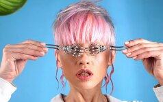 Vasaros plaukų tendencijos - nerealios spalvos ir drąsios formos
