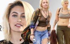 Žvaigždės be stilistų: kaip realybėje atrodo Michaelo Jacksono dukra Paris
