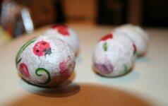 Kiaušinių marginimas: ypatingas, bet nesudėtingas būdas