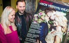 Garsūs vestuvių ekspertai pristatė naują vestuvių idėjų žurnalą jaunavedžiams