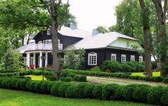 Šeimai priklausančiame dvare – it sanatorijoje