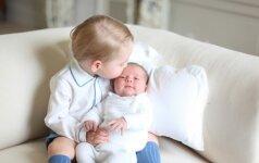 Parodė naujausias princesės Charlotte nuotraukas (FOTO)