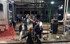 В Нью-Джерси поезд врезался в здание вокзала: 100 раненых