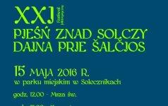 """XXI Festiwal Folklorystyczny """"Pieśń znad SolczyY"""""""