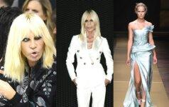 Donatella Versace mus šiurpina, bet naujausia jos kolekcija gniaužia kvapą