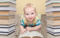 3 priežastys, kodėl vaikams reikia skaityti nuo gimimo