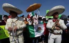Protestas prieš Donaldą Trumpą Meksikoje, Monterėjaus mieste