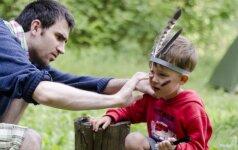 9 genialiai paprastos idėjos, ką su vaikais veikti vasarą FOTO