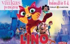 TAVO VAIKO premjeroje – spalvinga ir nuotaikinga animacija LINO: NUOTYKIAI KATINO KAILYJE