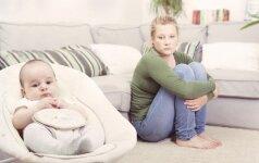 Jauna motina – atvirai apie tai, kokia būna motinystė