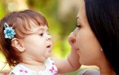 Kai moteris tampa mama, nutinka vienas įdomus dalykas