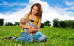 Žindymo nauda mamai ir kūdikiui