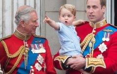 Mažasis princas karalienės iškilmėse ir juokino, ir stebino (FOTO)