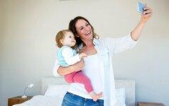 Fotografė: ar saugu feisbuke dėti savo vaikų nuotraukas?