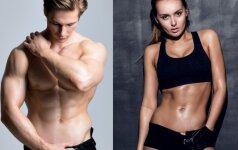 Pratimai, padėsiantys išryškinti pilvo presą
