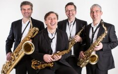 """Saksofonų kvartetas  """"Blattwerk"""