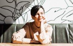 Kristina Kruopienytė dizainerės darbą derina su motinyste