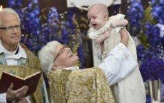 Graži karališkųjų krikštynų tradicija (FOTO)