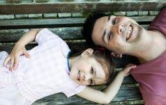 Paulius Skučas – atvirai, ką reiškia būti dukters tėčiu