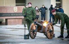 Добровольческие силы Литвы отмечают 26-летие