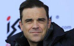 Tėčiu vėl tapęs Robbie Williamsas filmavo gimdančią žmoną ir viską paviešino VIDEO