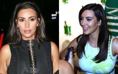 Ar pastebėsi: grožio klaida, kurios Kim Kardashian gailisi iki šiol