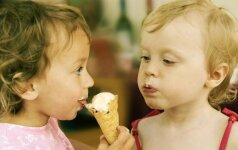 Saldainiai - ledai ant pagaliuko mamos receptas