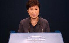 Pietų Korėjos prezidentė Park Geun-hye