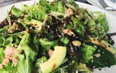 Julijos virtuvė. Mano mėgstamiausios tuno ir avokado salotos