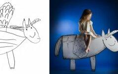 Lietuvei fotografei unikalų projektą sukurti padėjo dukrytė fotogalerija