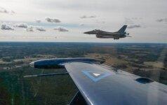 На прошлой неделе истребители НАТО сопроводили семь самолетов РФ