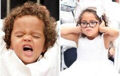 Mariah Carey dvynukai: mama, mums nuobodu! FOTO
