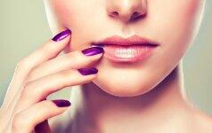 Manikiūro gudrybės: kaip spalvomis padailinti nagų formą