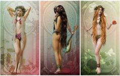Kuri graikų deivė tave valdo pagal gimimo datą