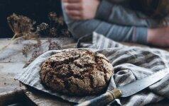 Naminė duona – raugo, maišinio ir tešlos receptas