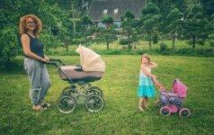 Metus be cukraus gyventi pasiryžusi dviejų vaikų mama stebina savo veiklumu ir kūrybiškumu