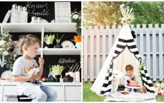 Įspūdinga ir stilinga Rojaus gimtadienio šventė namuose