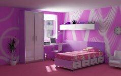 Vaiko kambario spalvų paslaptys