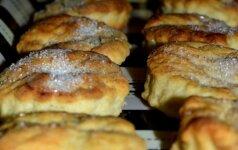 Greitai paruošiami grietininiai sausainiukai