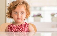 Kas nutinka, jei vaikystėje gauname per mažai meilės