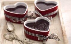 Nustebink mylimąjį - itin lengvai paruošiamas šokoladinio kremo desertas