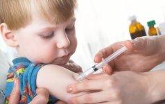 Klausimas gydytojai: skiepyti vaiką ar ne