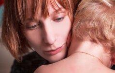 Sutrikusi mama: nesusitvarkau su dviejų metų vaiku