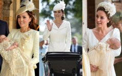 Kodėl Kate Middleton per savo vaikų krikštynas visuomet vilki baltai?