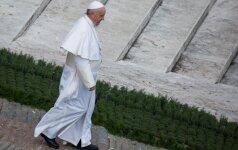 Popiežius Pranciškus Verbų sekmadienį Vatikane
