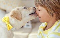 JAUTRU: fotografuoja vaiko ir šuns draugystę FOTO
