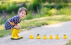 Lyja? Ką veikti vaikams: 8 patarimai